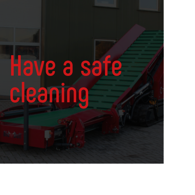 Hortiworld Have a safe cleaning